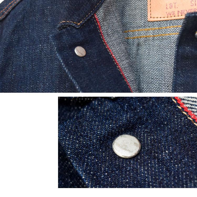 【メンズ】ブルーブルー(BLUE BLUE )2016年秋冬モデル セルビッチデニムGジャケット 700044516のディテール詳細画像6