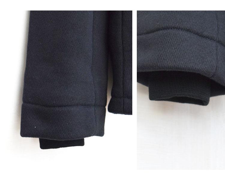 【メンズ】ブルーブルージャパン(BLUE BLUE JAPAN)2016年秋冬モデル ヘビースウェット リブカラージャケット 700056571のディテール詳細画像5