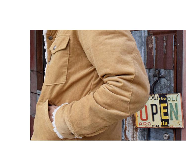 【メンズ】ハリウッドランチマーケット(HOLLYWOOD RANCH MARKET)2016年秋冬モデル コーデュロイボア ライニングジャケット 700057581のイメージ画像