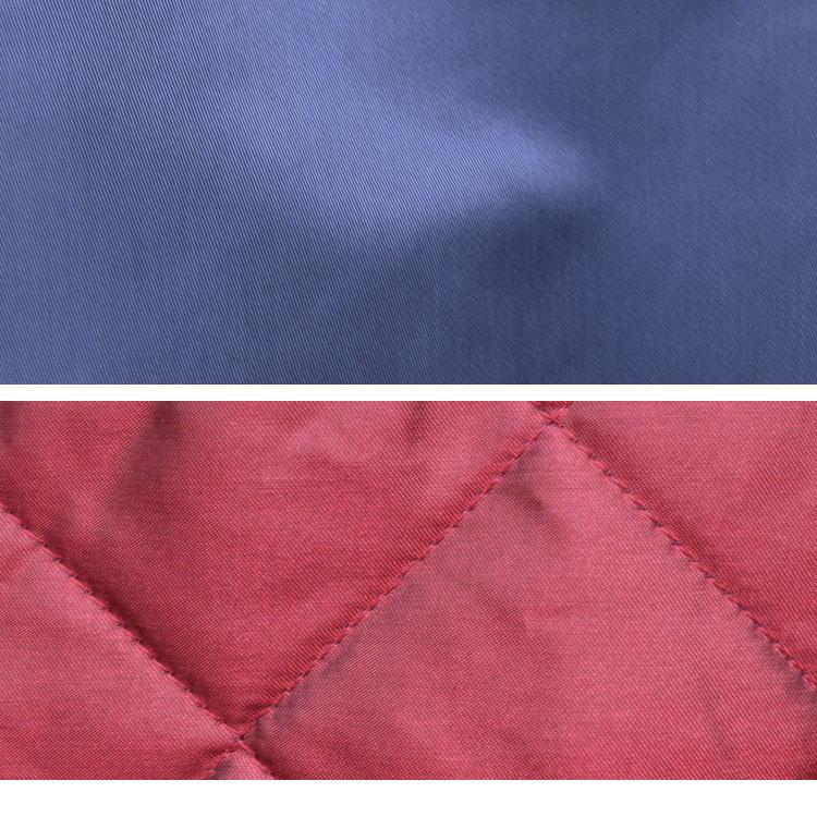 【メンズ】ブルーブルー(BLUE BLUE)2016年秋冬モデル インディゴナイロン MA1ジャケット 700059002のディテール詳細画像11