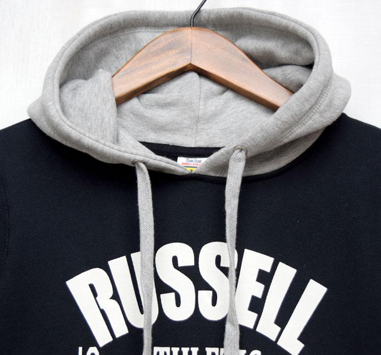 【レディース】ラッセル・ブルーブルー(RUSSELL・BLUEBLUE)2017年春夏モデル RUSSELL・BLUE BLUE フードスウェットワンピース 700059962のディテール詳細画像7