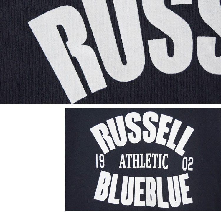 【レディース】ラッセル・ブルーブルー(RUSSELL・BLUEBLUE)2017年春夏モデル RUSSELL・BLUE BLUE フードスウェットワンピース 700059962のディテール詳細画像8