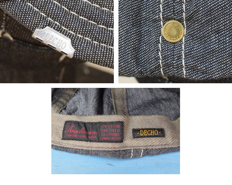 【雑貨・小物】デコ(DECHO)2016年春夏モデル BEAT INITIAL CAPS STRIPE andc-024のディテール詳細画像7