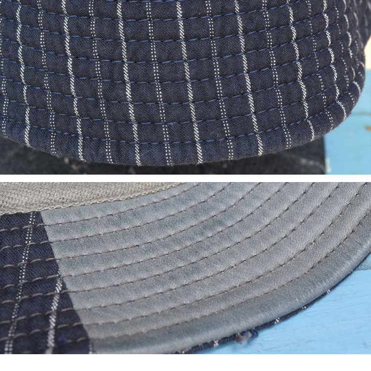 【雑貨・小物】デコ(DECHO)2016年春夏モデル BEAT INITIAL HAT STRIPEandc-025のディテール詳細画像6
