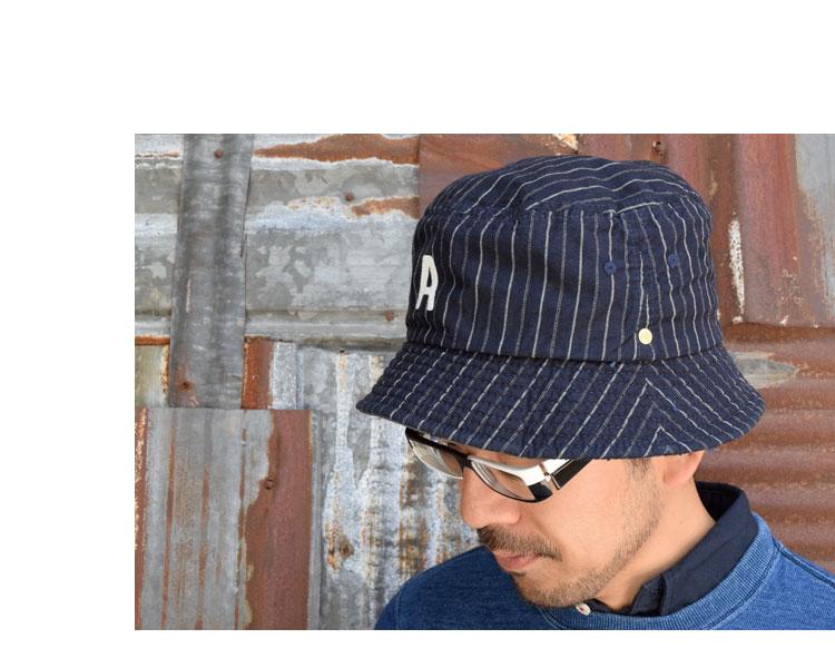 【雑貨・小物】デコ(DECHO)2016年春夏モデル BEAT INITIAL HAT STRIPEandc-025のイメージ画像