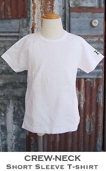 ストレッチフライス キッズ クルーネック半袖Tシャツ