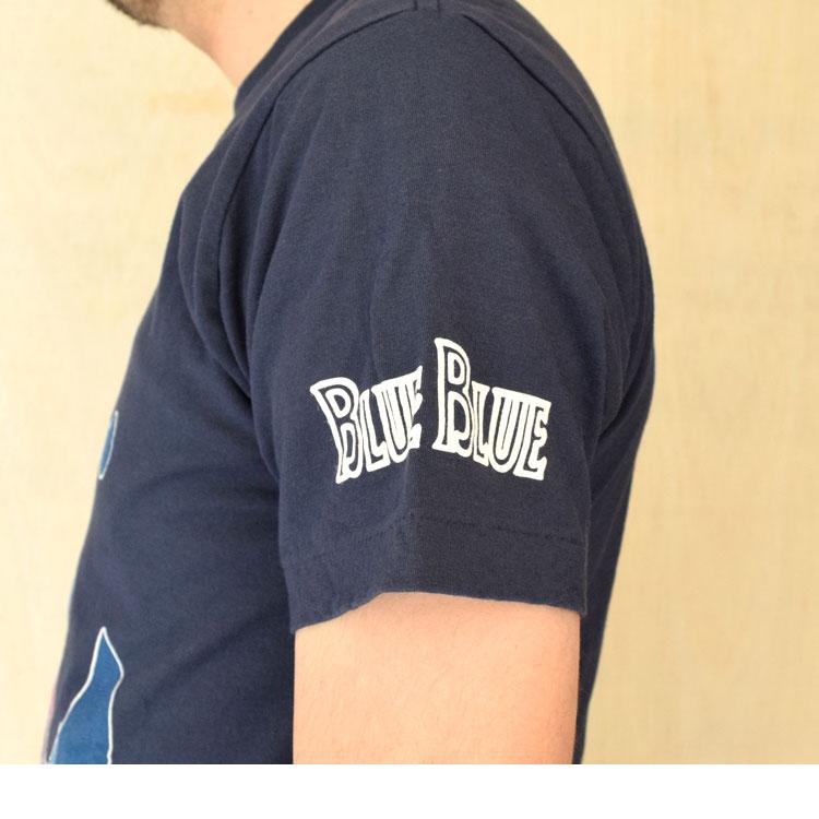 【メンズ・レディース】セイリン・ディズニー(SEILIN・DISNEY )2016年春夏モデル BLUEBLUE ANCHOR MICKEYショートスリーブTシャツ 700055905のディテール詳細画像2