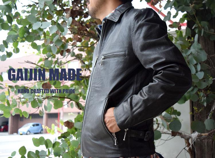ガイジンメイド(GAIJIN MADE)2017年秋冬モデル  ゴートジップジャケット メイン画像