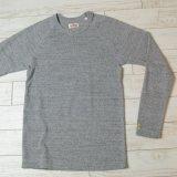 画像: 【全カラー・全サイズ展開】ハリウッドランチマーケット 『ストレッチフライス ロングスリーヴTシャツ カラー:GREY』