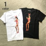 画像: PLAYBOY・SCREEN STARS・HOLLYWOOD RANCH MARKET BUNNY ILLUSTRATIONS Tシャツ PB