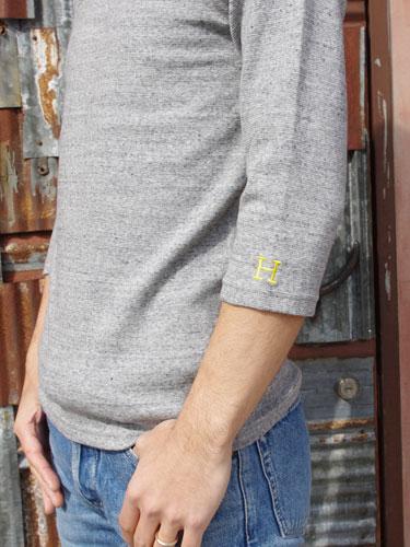 画像: 【全カラー・全サイズ展開】ハリウッドランチマーケット 『ストレッチフライス ハーフスリーヴTシャツ カラー:SCARLET』