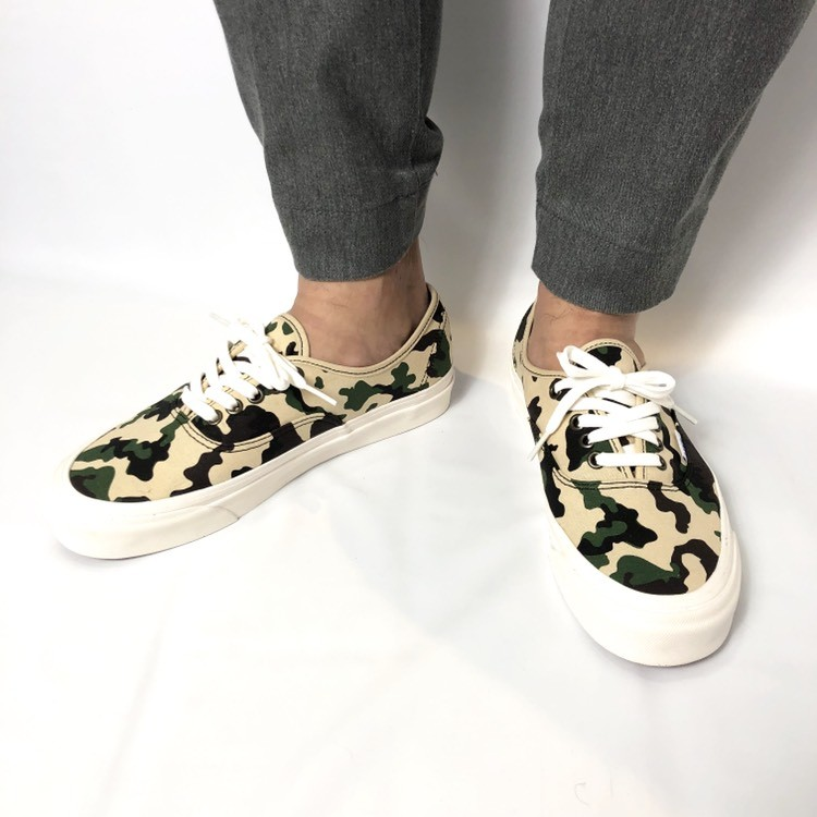 画像2: 【スニーカー】 VANS(バンズ/ヴァンズ) AUTHENTIC 44 DX (ANAHEIM FACTORY) OG CAMO (2)