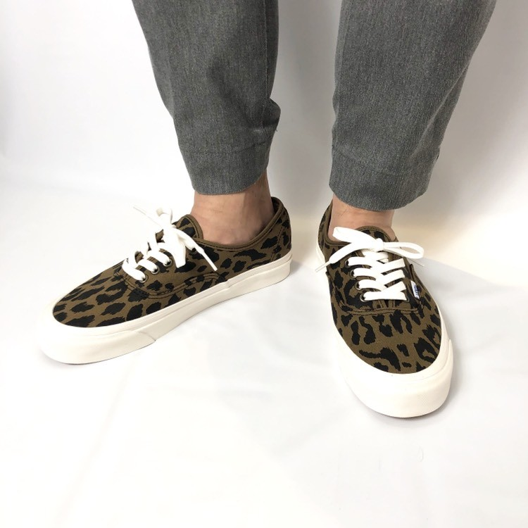 画像2: 【スニーカー】 VANS(バンズ/ヴァンズ) AUTHENTIC 44 DX (ANAHEIM FACTORY) OG LEOPARD (2)