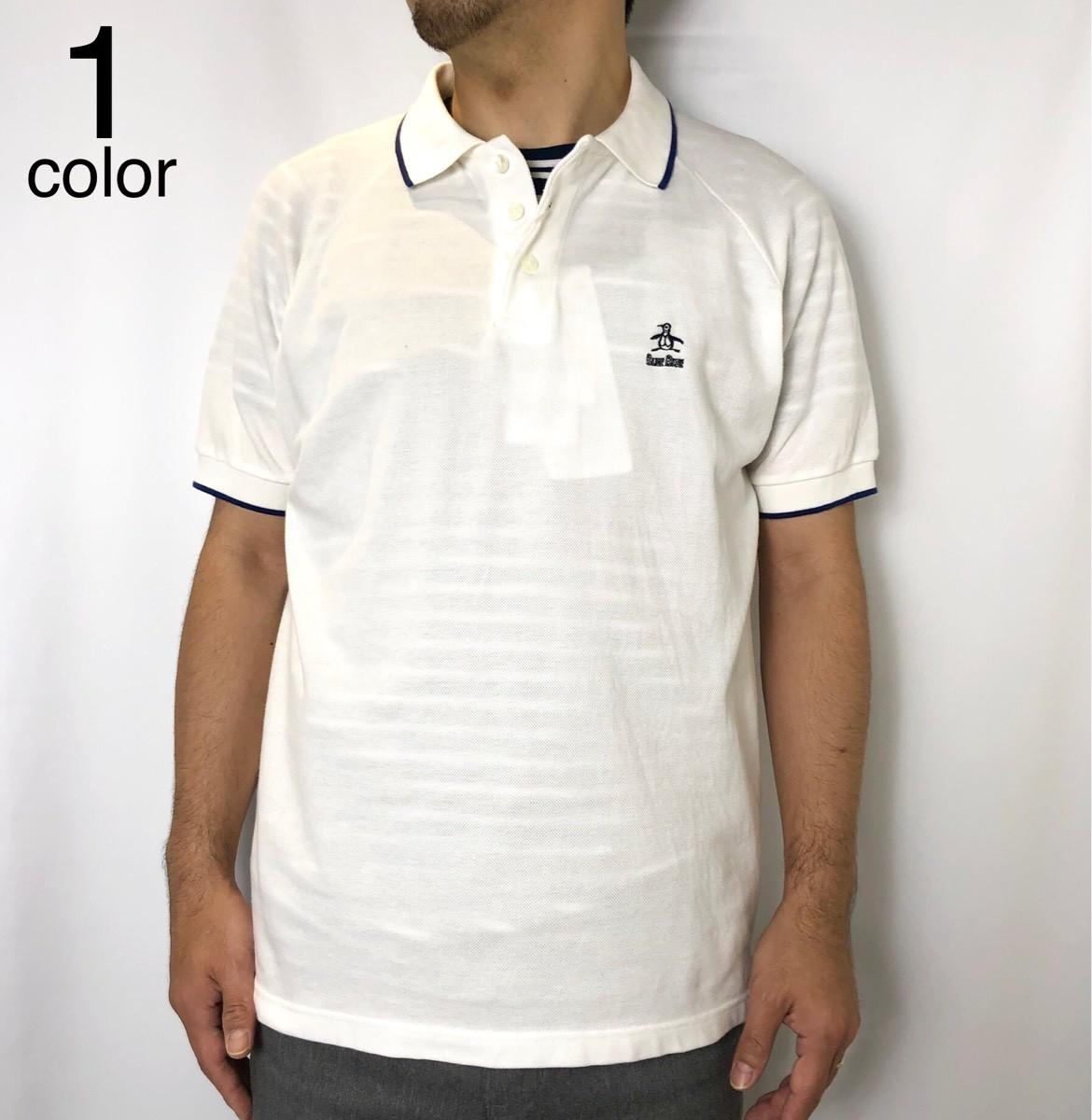 画像1: 【メンズ】マンシングウェア・ブルーブルー(MUNSINGWEAR・BLUEBLUE)Munsingwear・BLUE BLUE グランドスラム ゴルフシャツ (1)