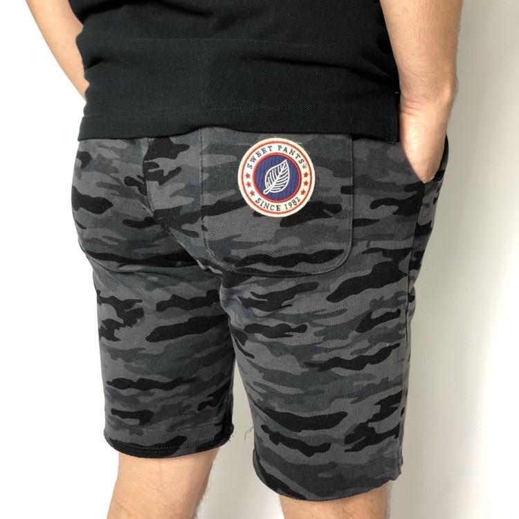 画像2: 【メンズ】スイートパンツ(SWEET PANTS )SWEET PANTS カモショーツ (2)