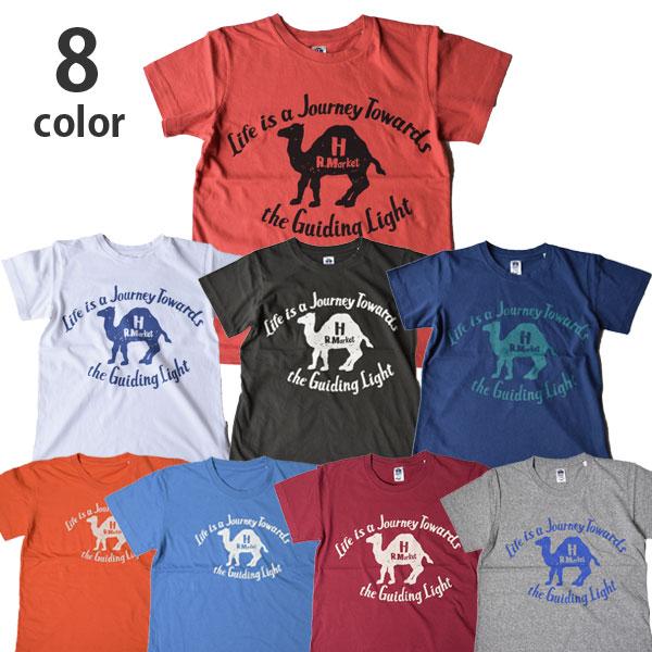 画像1: 【メンズ・レディース】ハリウッドランチマーケット(HOLLYWOOD RANCH MARKET )NEW JOURNEY CAMEL Tシャツ (1)