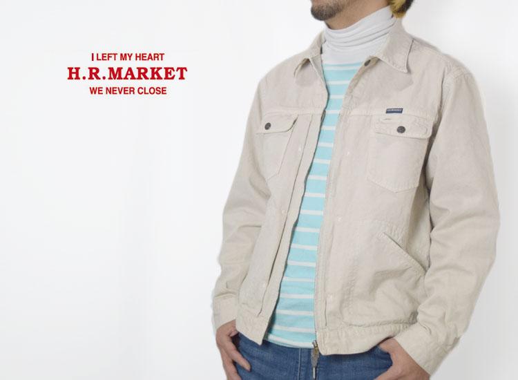 画像2: 【Mサイズのみ】【メンズ】ハリウッドランチマーケット(HOLLYWOOD RANCH MARKET)フロントジップ ワークジャケット (2)