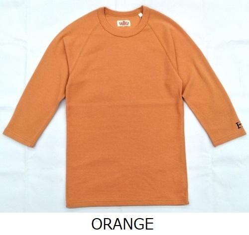 画像1: ハリウッドランチマーケット 『ストレッチフライス ハーフスリーヴTシャツ カラー:ORANGE』SFYO (1)