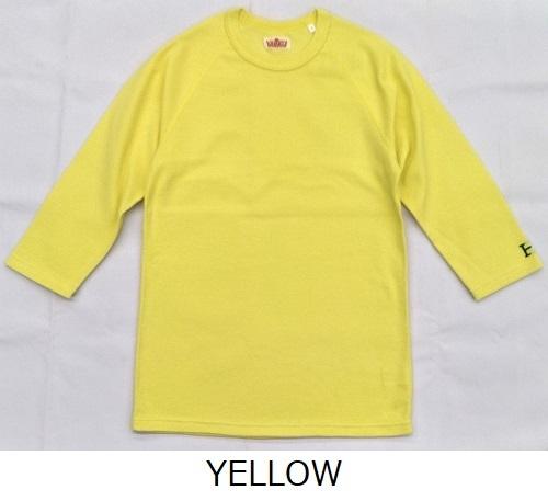 画像1: ハリウッドランチマーケット 『ストレッチフライス ハーフスリーヴTシャツ カラー:YELLOW』SFYO (1)
