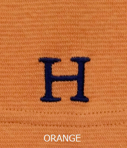 画像2: ハリウッドランチマーケット 『ストレッチフライス ハーフスリーヴTシャツ カラー:ORANGE』SFYO (2)