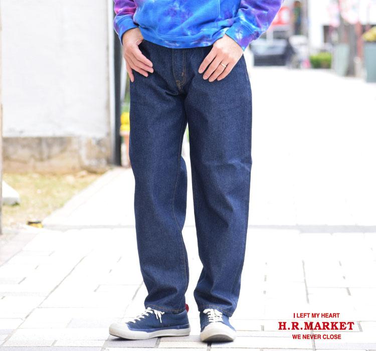 画像2: 【メンズ】ハリウッドランチマーケット(HOLLYWOOD RANCH MARKET)PA1852 テーパードリラックスジーンズ (2)