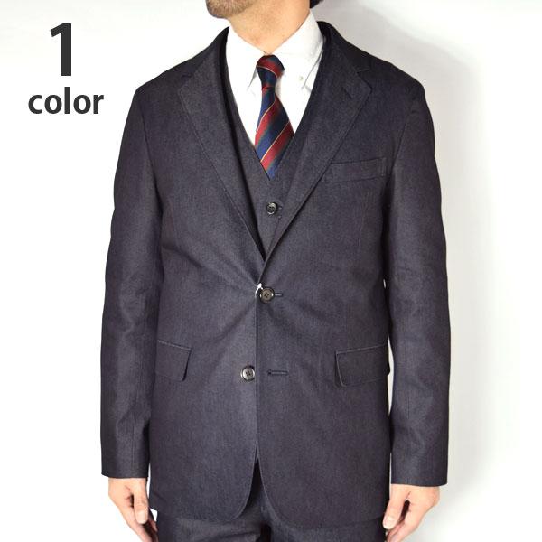 画像1: BLUE BLUE TCデニム ストレッチ ジャケット (1)