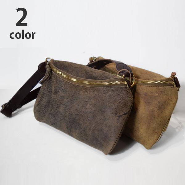 画像1: 【小物・雑貨】スロウ(SLOW)クーズー(kudu)2018年秋冬モデル ZIP WAIST BAG (1)