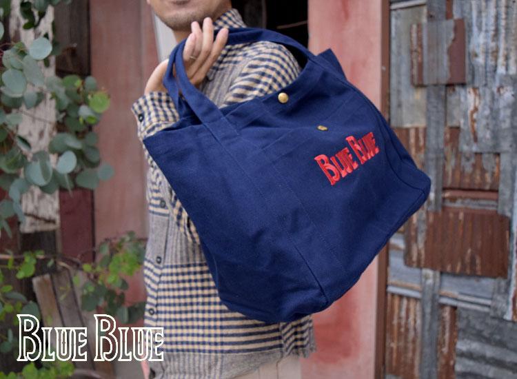 画像2: 【小物・雑貨】ブルーブルー(BLUE BLUE)BBアンカーキャンバスバッグL (アンカーバッグ) (2)