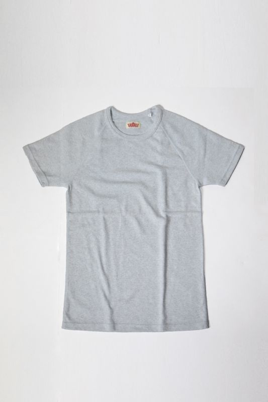画像1: ハリウッドランチマーケット 『ストレッチフライス ショートスリーヴTシャツ カラー:SAX』 (1)