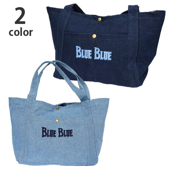 画像1: 【再入荷】【小物・雑貨】ブルーブルー(BLUE BLUE) BLUE BLUE アンカーデニムバッグL (アンカーバッグ) (1)