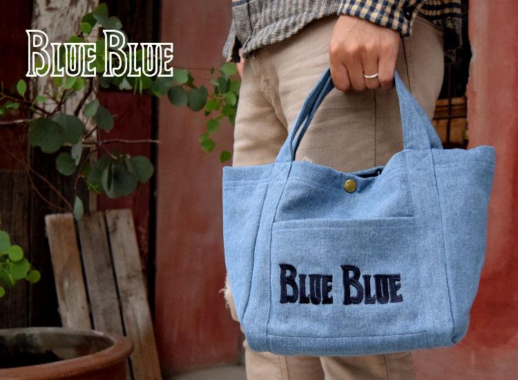 画像2: 【再入荷】【小物・雑貨】ブルーブルー(BLUE BLUE) BLUE BLUE アンカーデニムバッグS (アンカーバッグ) (2)