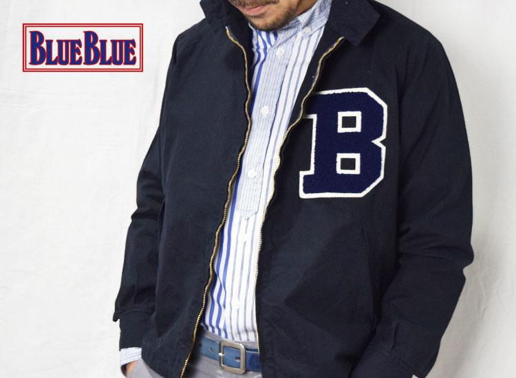 画像2: 【PINK Mサイズのみ】【メンズ】キャンパス・ブルーブルー(CAMPUS・BLUE BLUE)2018年春夏モデル CAMPUS・BLUE BLUE Bジップジャケット (2)