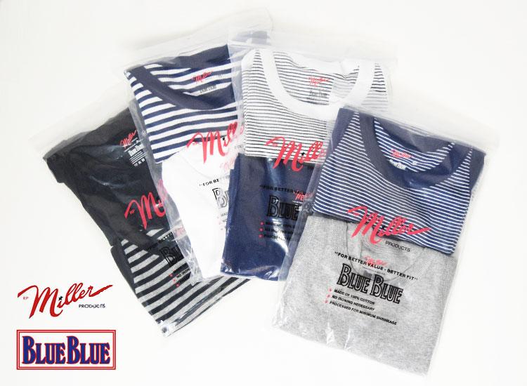画像2: 【メンズ】ミラー・ブルーブルー(MILLER・BLUEBLUE)2018年春夏モデル MILLER・BLUE BLUE 2パックタンクトップ (2)
