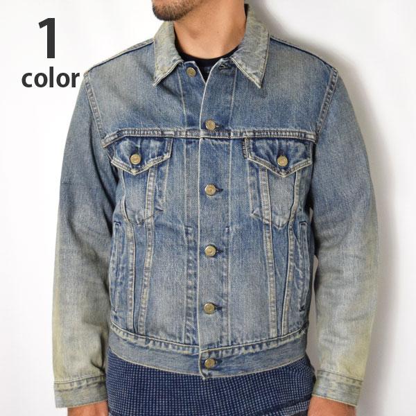 画像1: 【メンズ】ブルーブルー(BLUE BLUE)セルビッチデニム ユーズドGジャケット (1)