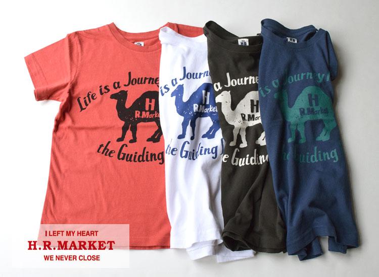 画像2: 【メンズ・レディース】ハリウッドランチマーケット(HOLLYWOOD RANCH MARKET )NEW JOURNEY CAMEL Tシャツ (2)