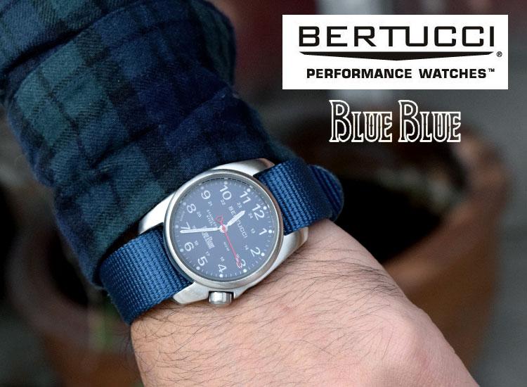 画像2: 【小物・雑貨】ベルトゥッチ・ブルーブルー(BERTUCCI・BLUE BLUE)2018年秋冬モデル BERTUCCI・BLUE BLUE A-1S FIELDウォッチ (2)