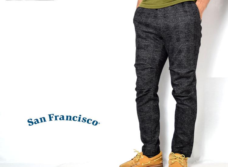 画像2: 【メンズ】サンフランシスコ(San Francisco )コンプレッション ジャージーパンツ (2)