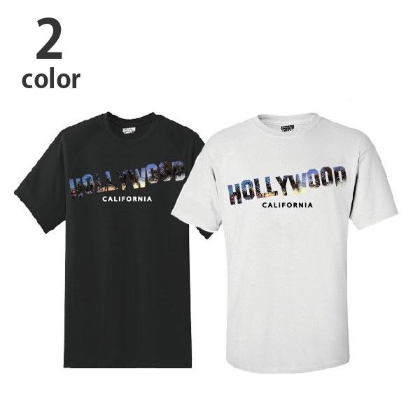 画像2: 【メンズ】スクリーンスターズ・ハリウッドランチマーケット(SCREEN STARS・HRM)SCREEN STARS HRM PALM TREE HOLLYWOOD Tシャツ (2)