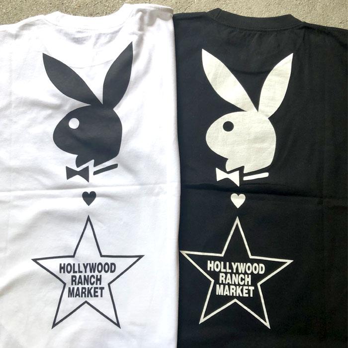 画像4: 【メンズ】プレイボーイ・スクリーンスターズ・ハリウッドランチマーケット(PLAYBOY・SCREEN STARS・HOLLYWOOD RANCH MARKET)BIG LOGO Tシャツ PB (4)
