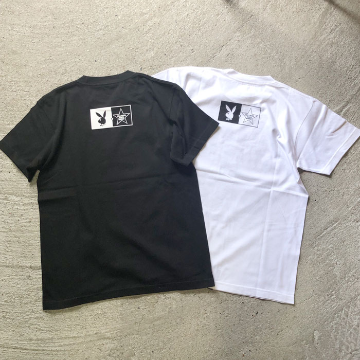 画像2: 【メンズ】プレイボーイ・スクリーンスターズ・ハリウッドランチマーケット(PLAYBOY・SCREEN STARS・HOLLYWOOD RANCH MARKET)POLAROID Tシャツ PB (2)