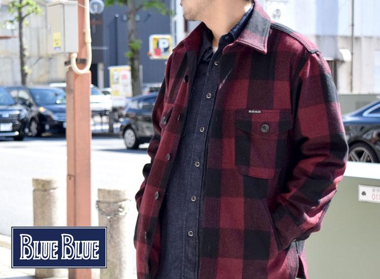 画像2: BLUE BLUE ユーティリティシャツジャケット (2)