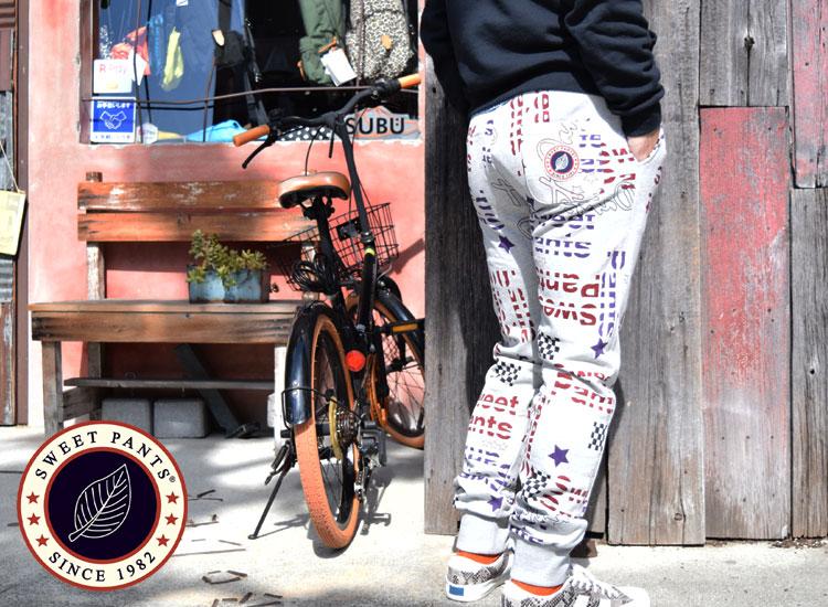 画像2: SWEET PANTS PRINT SLIM (2)