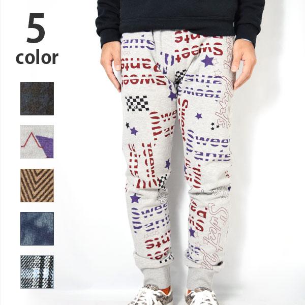 画像1: SWEET PANTS PRINT SLIM (1)