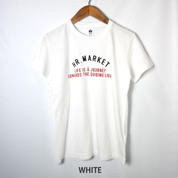画像2: 【メンズ】ハリウッドランチマーケット(HOLLYWOOD RANCH MARKET)TRICOカラー HR MARKET ロゴ ショートスリーブTシャツ (2)