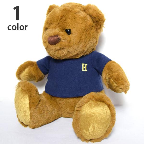 画像1: 【雑貨・小物】エイチアールリメイク(H.R.REMAKE)HRR H エンブロイダリーTシャツ BEAR M (1)