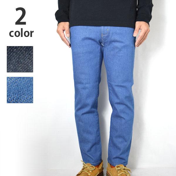 画像1: 【再入荷】BLUE BLUE ストレッチデニム スリムイージーパンツ (1)