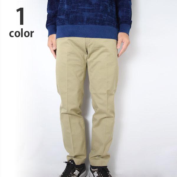 画像1: BLUE BLUE オフィサーズチノ トラウザーズ (1)