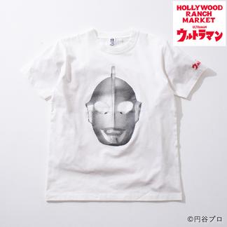 画像2: HOLLYWOOD RANCH MARKET ウルトラマン HRM FACE Tシャツ (2)