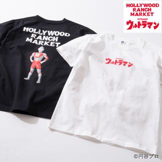 画像1: HOLLYWOOD RANCH MARKET ウルトラマン HRM HR MARKET Tシャツ (1)
