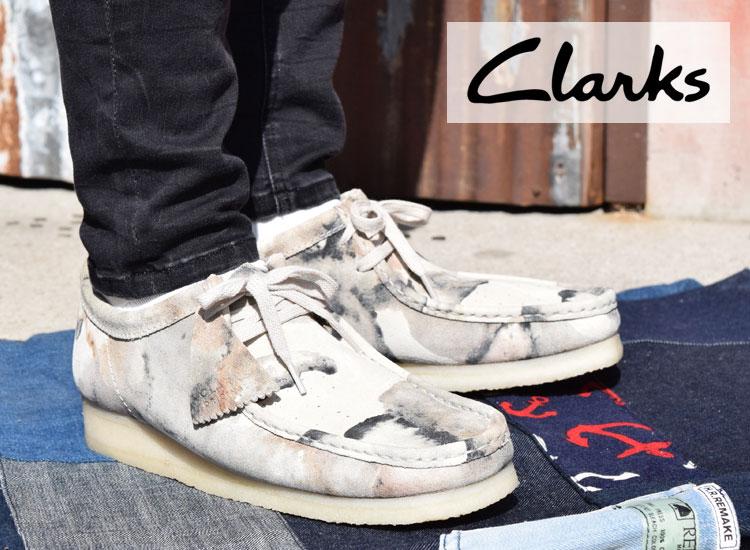 画像2: Clarks WALLABEE CAMO (2)